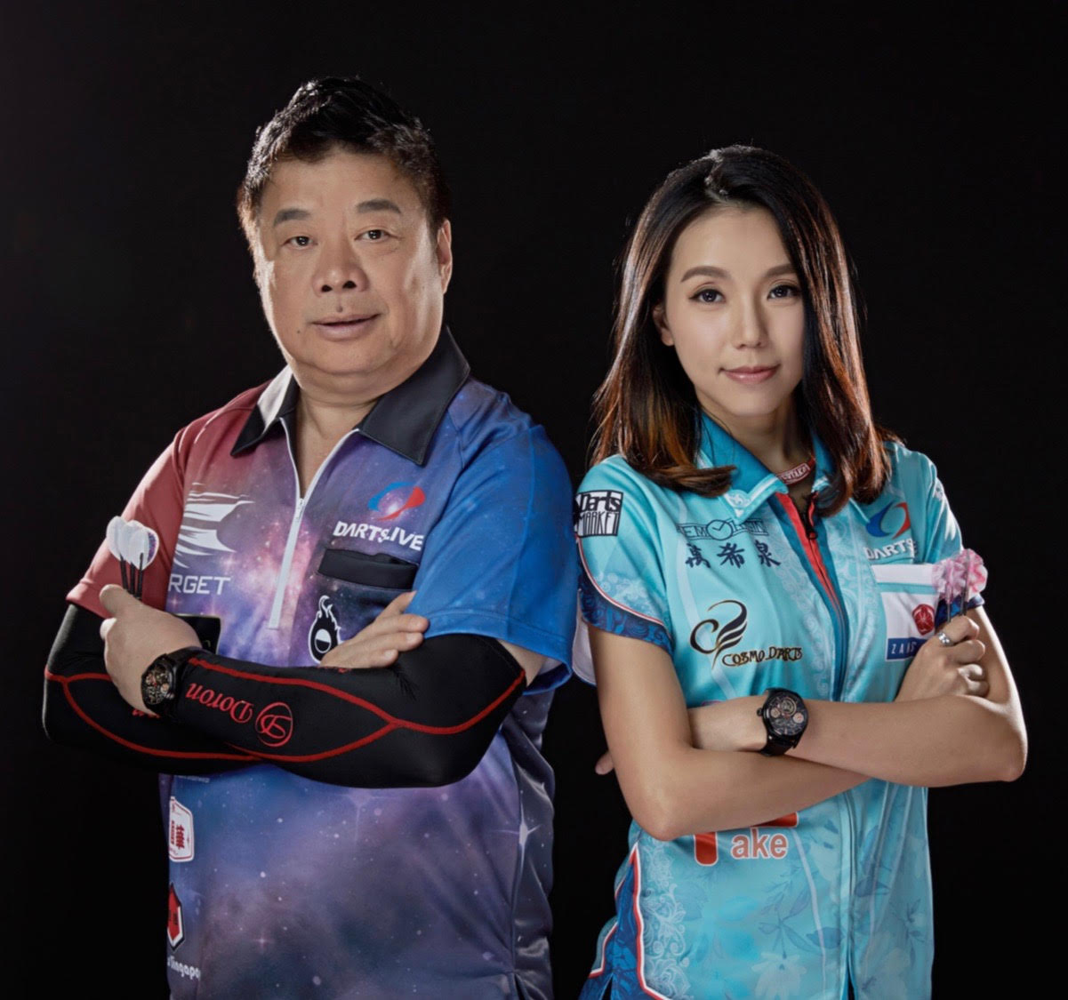 Memorigin Tourbillon 501 Series Darts  Men's Watch Paul Lim and Cathy Leung