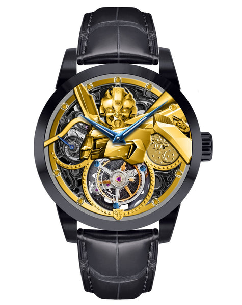 Marvel Transformers Bumblebee Memorigin Tourbillon Watches Disney Face