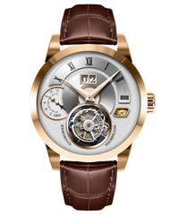 Memorigin Watch Tourbillon Grand Series Gold Color
