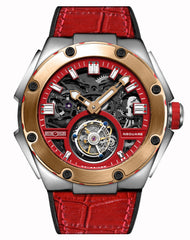 Memorigin Watch Tourbillon Nsquare Series Red