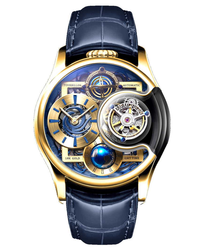 Memorigin Watch Tourbillon Imperial Stellar Series Gold