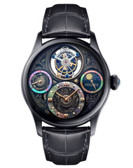 Memorigin Watch Tourbillon Starlit Legend Series Black Dial