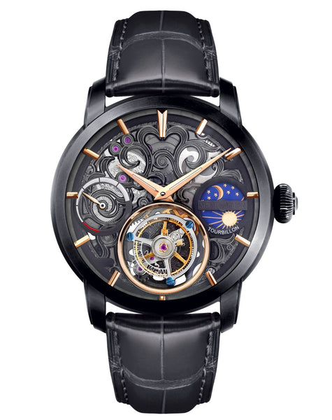Memorigin Watch Tourbillon Navigator Black Series