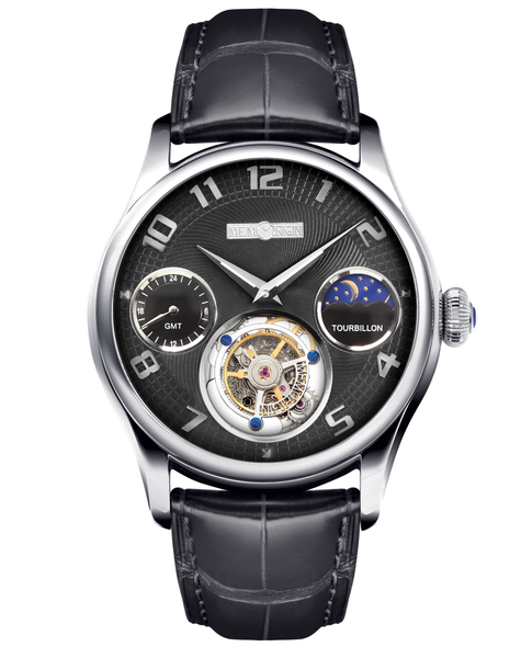 Memorigin Watch Tourbillon Travelers Series Black Dial