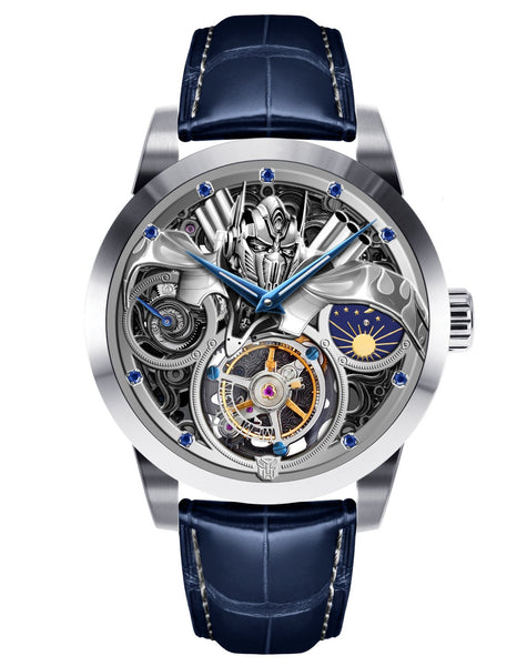 Marvel Transformers Optimus Prime Memorigin Tourbillon Watches Disney Face