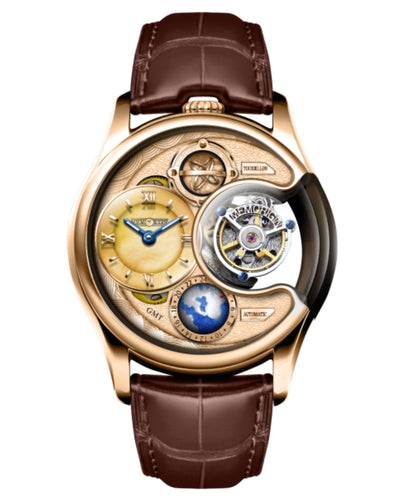 Memorigin Watch Tourbillon Stellar Series Brown Version