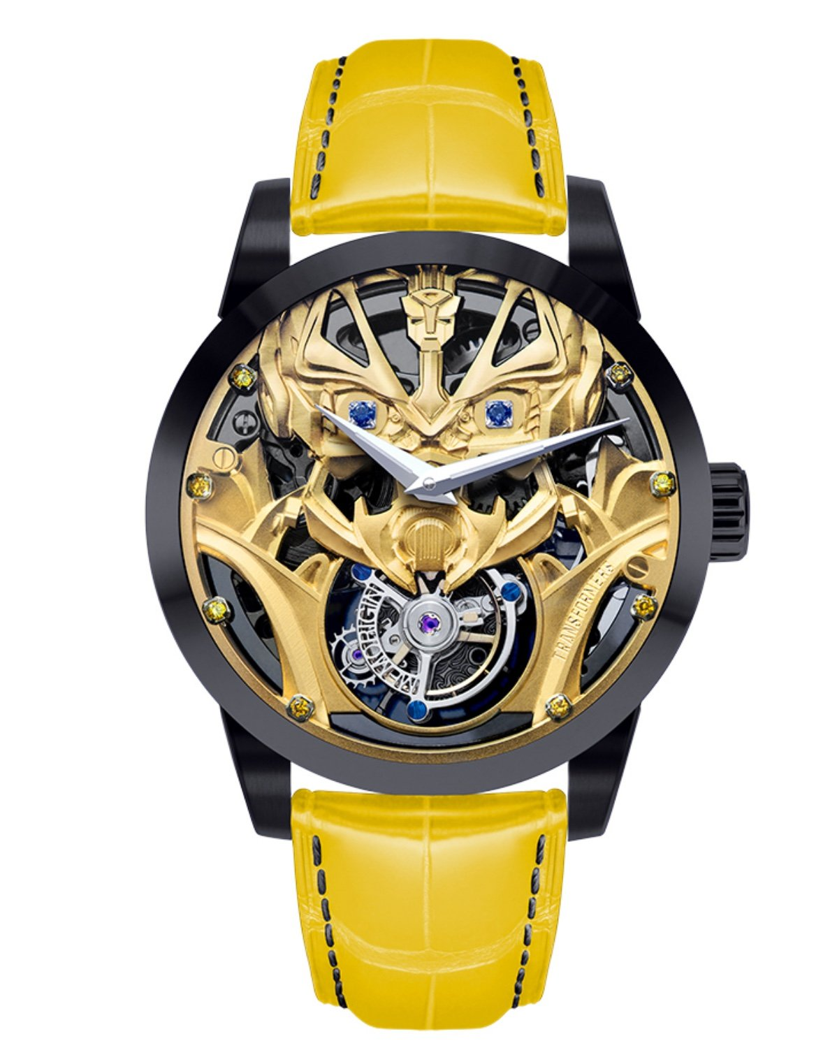 Marvel Transformers Bumblebee 1st version Memorigin Tourbillon Watches Disney Face