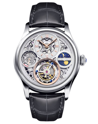 Memorigin Watch Tourbillon Zeus Series Silver