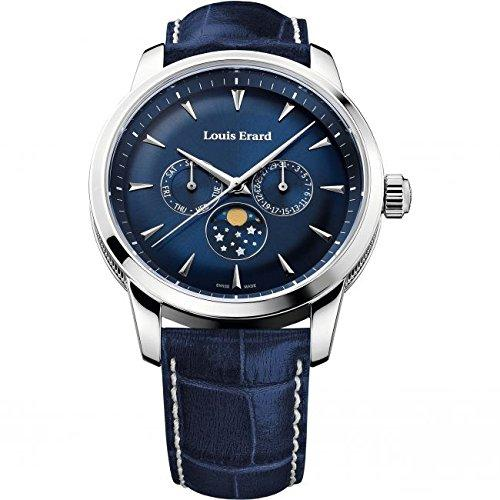 Louis Erard Heritage Collection Swiss Quartz Blue Dial Men's Watch 14910AA05.BDC102