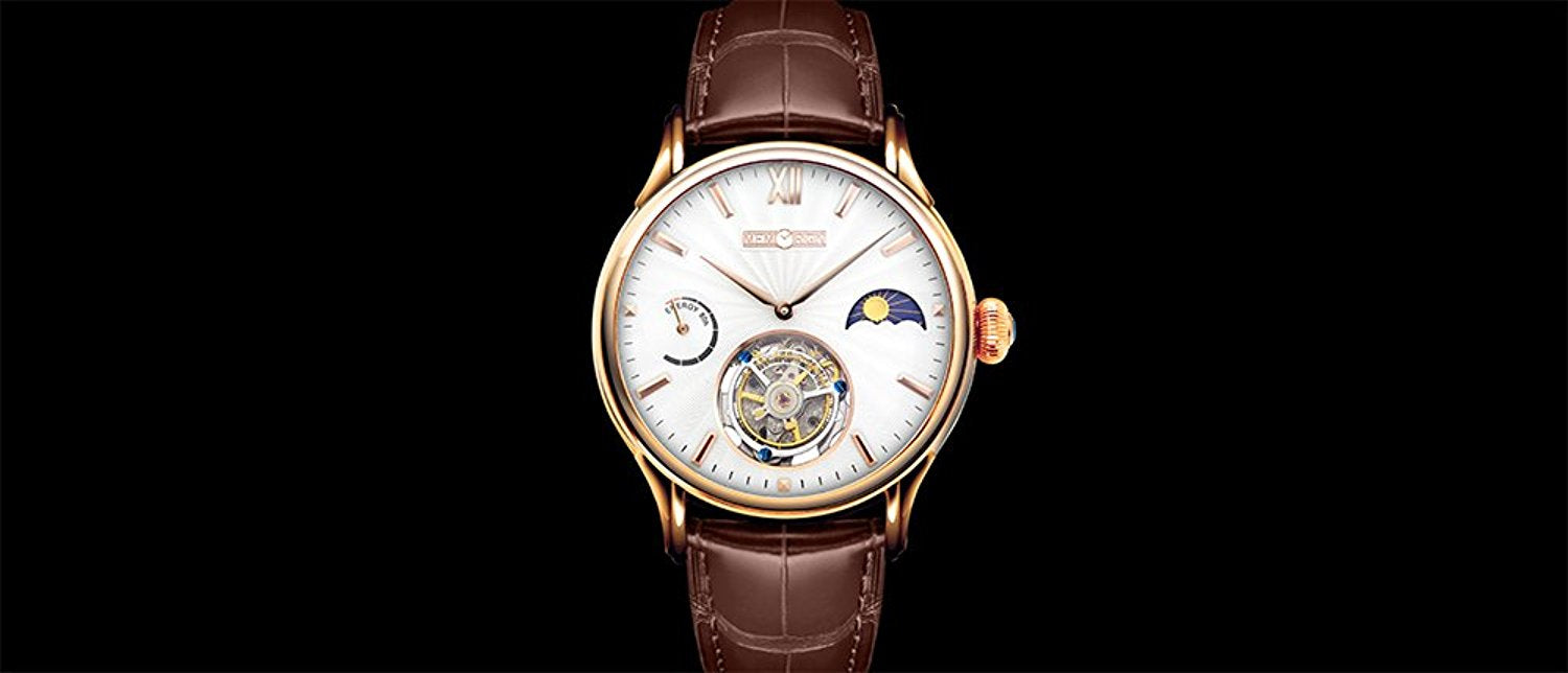 Memorigin Everlasting Series Tourbillon Watch Gold