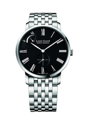 Louis Erard Men's 53230AA12.BMA35 Excellence Automatic Silver Metallic Bracelet Watch