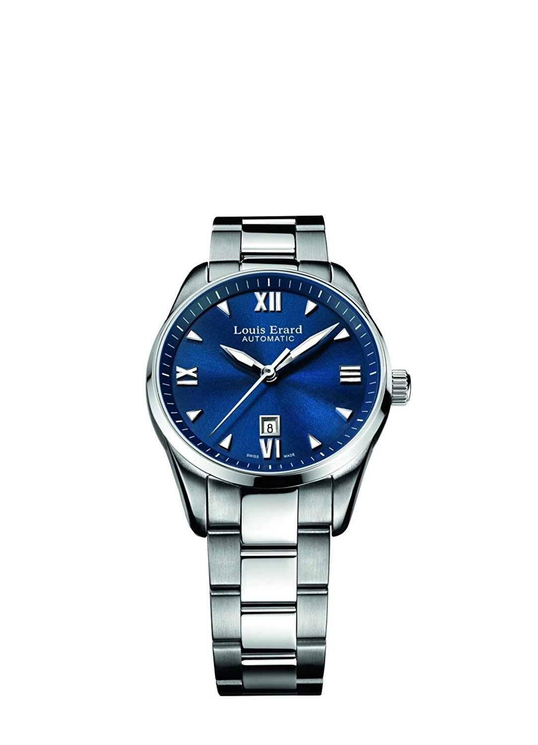 Louis Erard Heritage Collection Swiss Automatic Blue Dial Women's Watch 20100AA05.BMA17