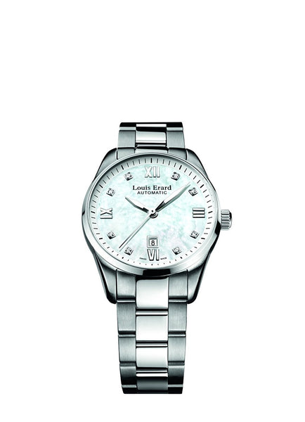 Louis Erard Heritage Collection Swiss Automatic White Dial Women's Watch 20100AA14.BMA17