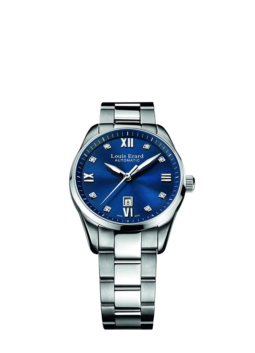 Louis Erard Heritage Collection Swiss Automatic Blue Dial Women's Watch 20100AA15.BMA17