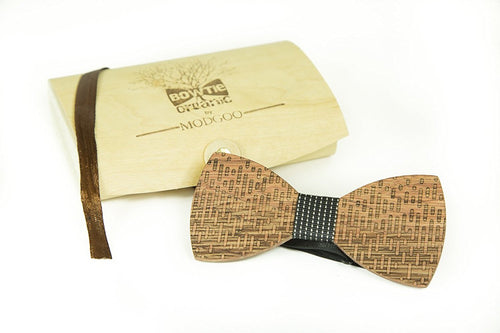 Modgoo Organic Wood Bow Tie Equalizer Black