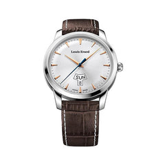 Louis Erard Heritage Collection Swiss Quartz Silver Dial Men's Watch 15920AA11.BEP101
