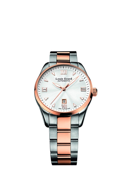 Louis Erard Heritage Collection Swiss Automatic Silver Dial Women's Watch 20100AB21.BMA20