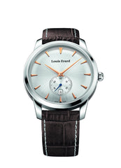 Louis Erard Heritage collection Quartz 16930AA11 Silver Dial Men's Watch