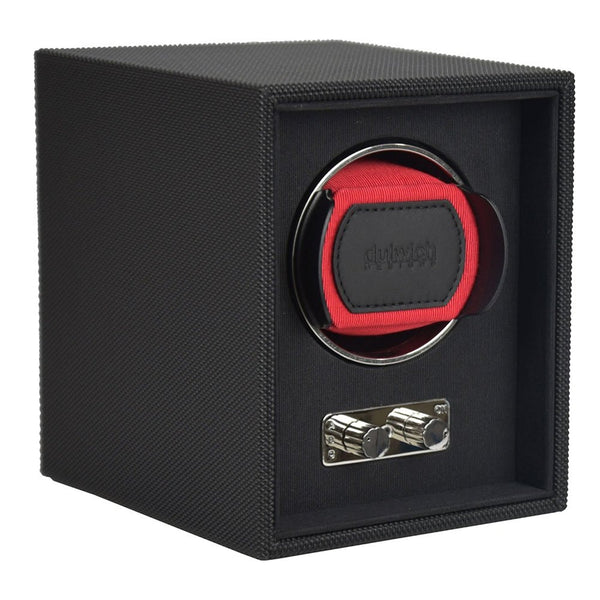 Goodwood Dulwich Burgundy Red Single Watch rotator Watch Winder