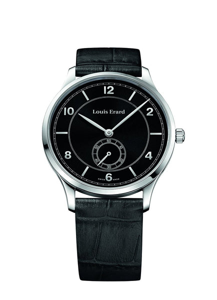 Louis Erard Men's 1931 Collection Black Dial Small Second 47217AA42 Watch