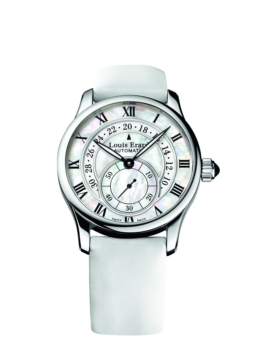 Louis Erard Emotion Collection Swiss Automatic White Pearl Dial Women's Watch 92600AA24.BDS93
