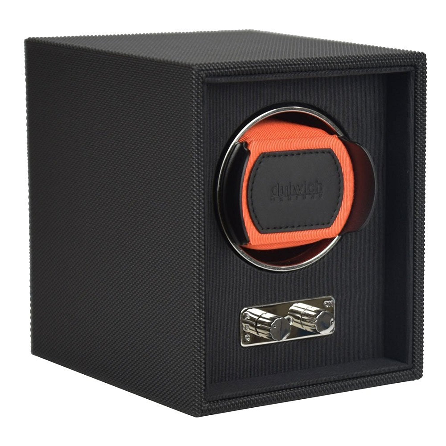 Goodwood Dulwich Orange Single Watch rotator Watch Winder