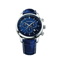 Louis Erard Heritage Collection Swiss Quartz Blue Dial Men's Watch 13900AA05.BDC102