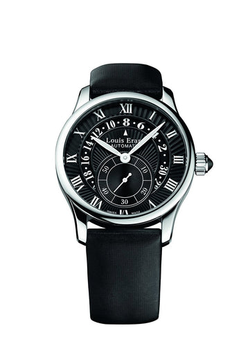 Louis Erard Emotion Collection Swiss Automatic Black Dial Women's Watch 92600AA22.BDS91