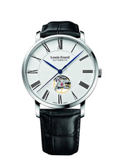 Louis Erard Excellence Swiss Automatic White Dial Women's Watch Open Balance 62233AA10.BDC02