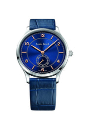 Louis Erard Men's 1931 Collection Blue Dial Small Second 47217AA55 Watch