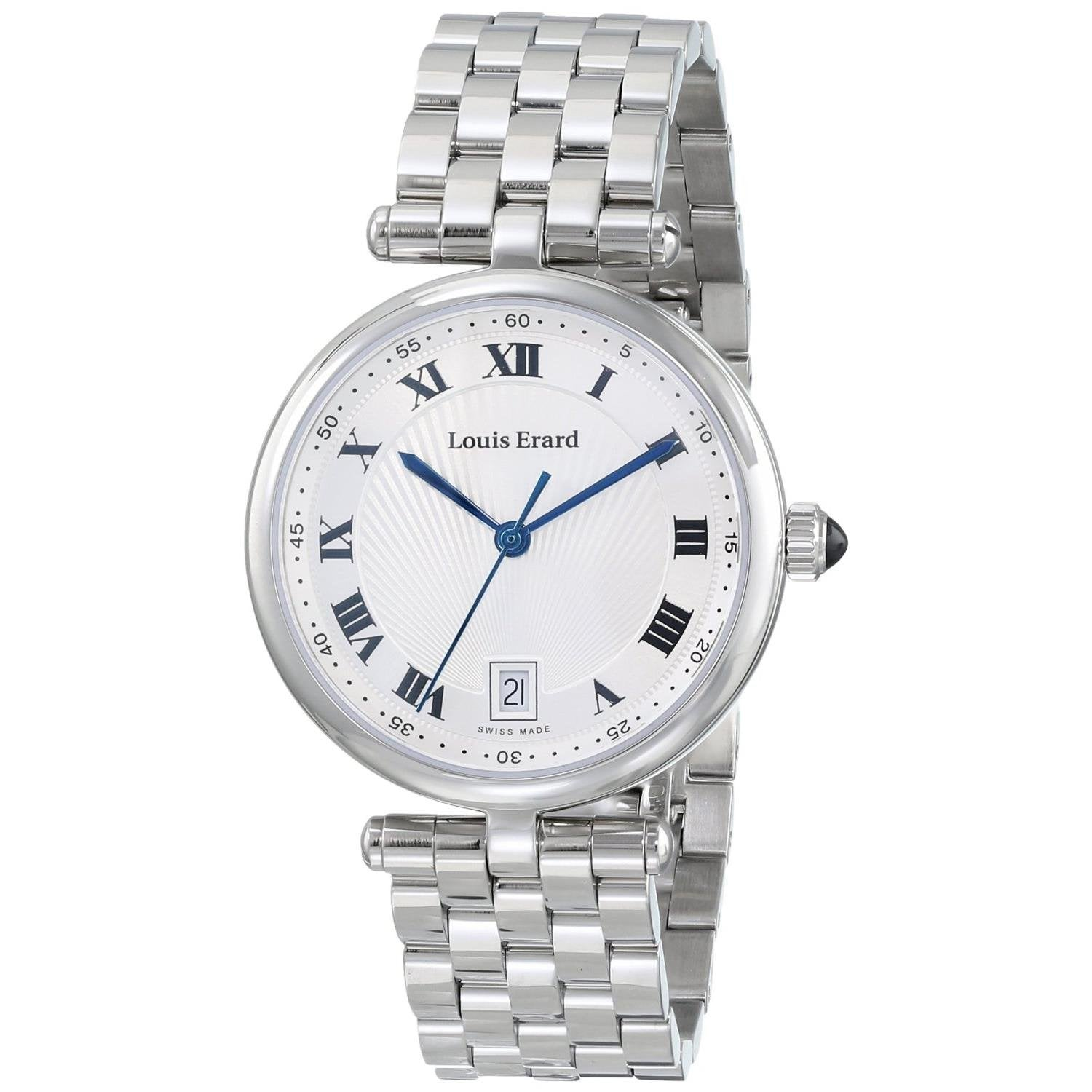 Louis Erard Romance Collection Quartz Silver Dial Women's Watch 11810AA01.BMA24