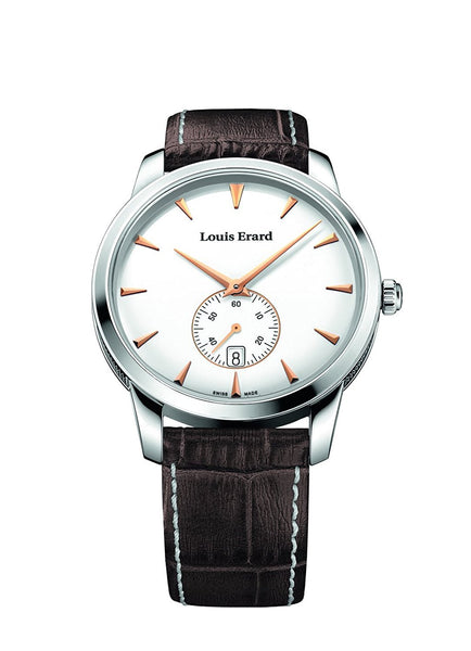 Louis Erard Heritage collection Quartz 16930AA10 White Dial Men's Watch