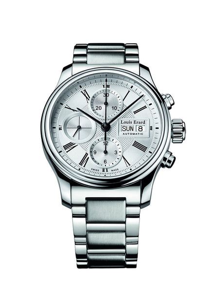 Louis Erard Heritage Collection Swiss Automatic Silver Dial Men's Watch 78259AA21.BMA05