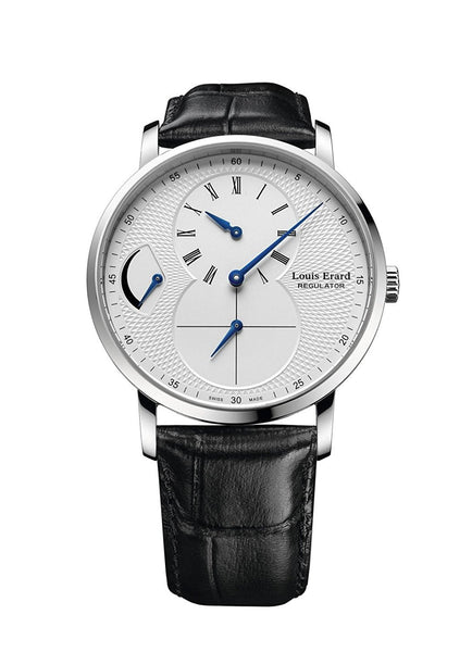 Louis Erard Men's Excellence Hand-Winding Silver Dial Watch 54230AA41.BDC29