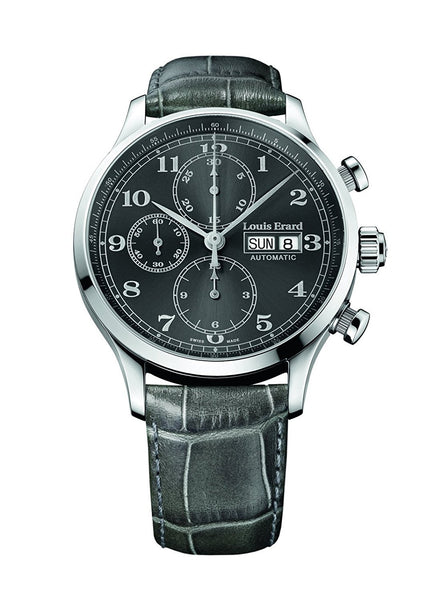 Louis Erard Men's 1931 Collection Grey Dial Chronograph 78225AA23 Watch