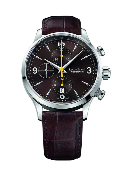 Louis Erard Heritage Collection Swiss Automatic Brown Dial Men's Watch 78225AA06.BDC21