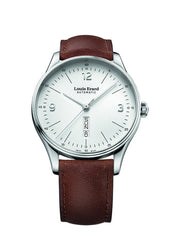 Louis Erard Men's Heritage White Dial 72288AA01 Veal Leather strap