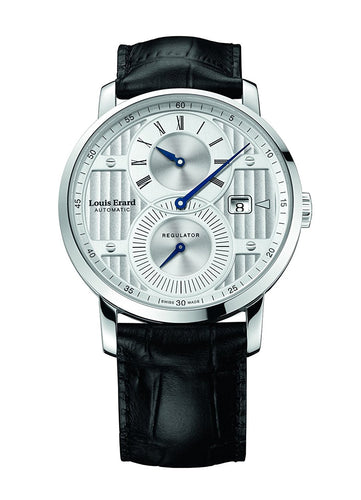 Louis Erard Excellence Collection Swiss Automatic Selfwinding Silver Dial Men's Watch 86236AA01.BDC51 ...