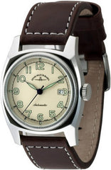Zeno-Watch Mens Watch - Retro Carre Automatic - 6164-a9