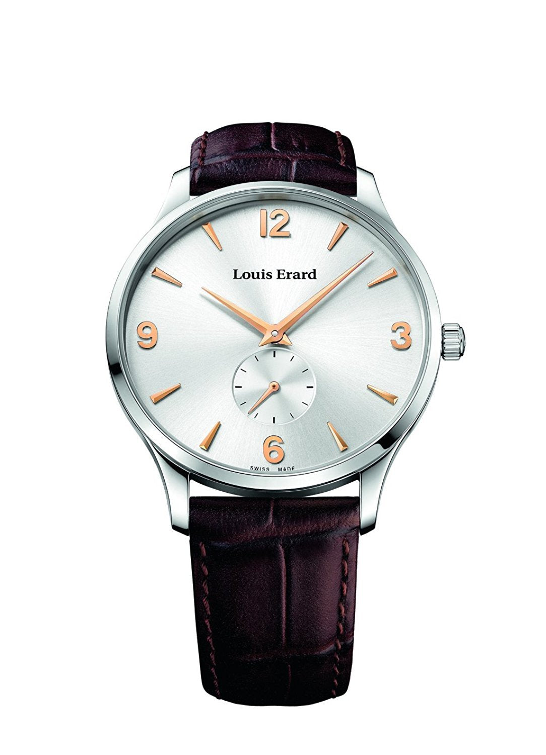 Louis Erard 1931 Collection Mechanical hand winding Silver Dial Men's Watch