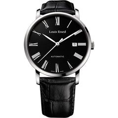 Louis Erard Men's 68233AA02.BDC02 Excellence Analog Display Automatic Self Wind Black Watch