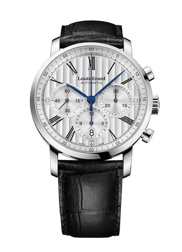 Louis Erard Excellence Collection Swiss Automatic Selfwinding Silver Dial Men's Watch 71231AA01.BDC51 ...