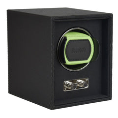 Goodwood Dulwich Light Green Single Watch rotator Watch Winder