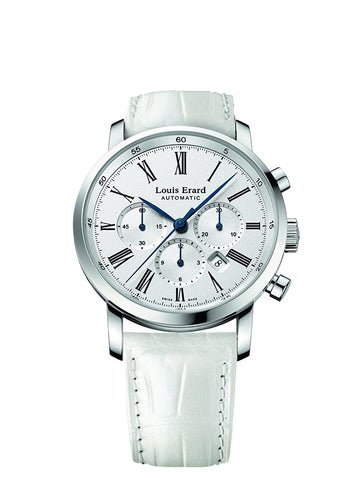 Louis Erard Excellence Collection Swiss Automatic White Dial Women's Watch 84234AA01.BAV12