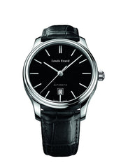 Louis Erard Heritage Collection Swiss Automatic Black Dial Men's Watch 69267AA12.BDC02