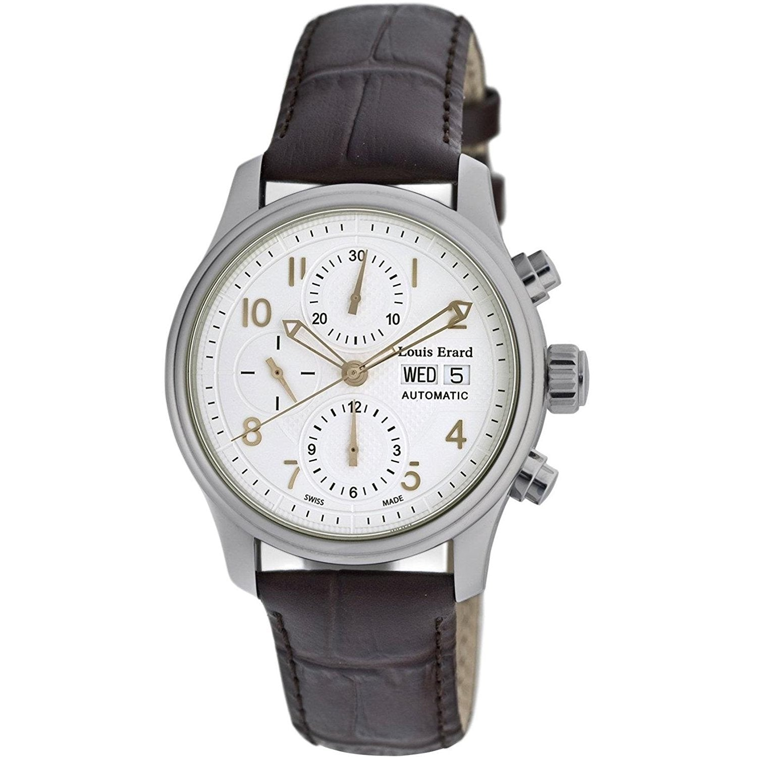 Louis Erard Heritage Collection Swiss Automatic Cream Dial Men's Watch 78269AA01.BDC21