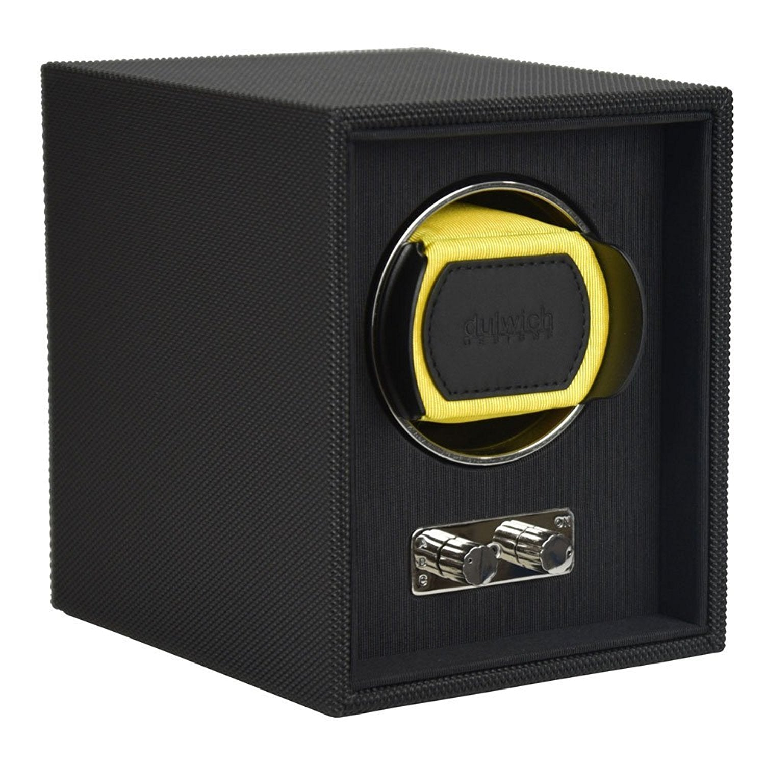 Goodwood Dulwich Yellow Single Watch rotator Watch Winder