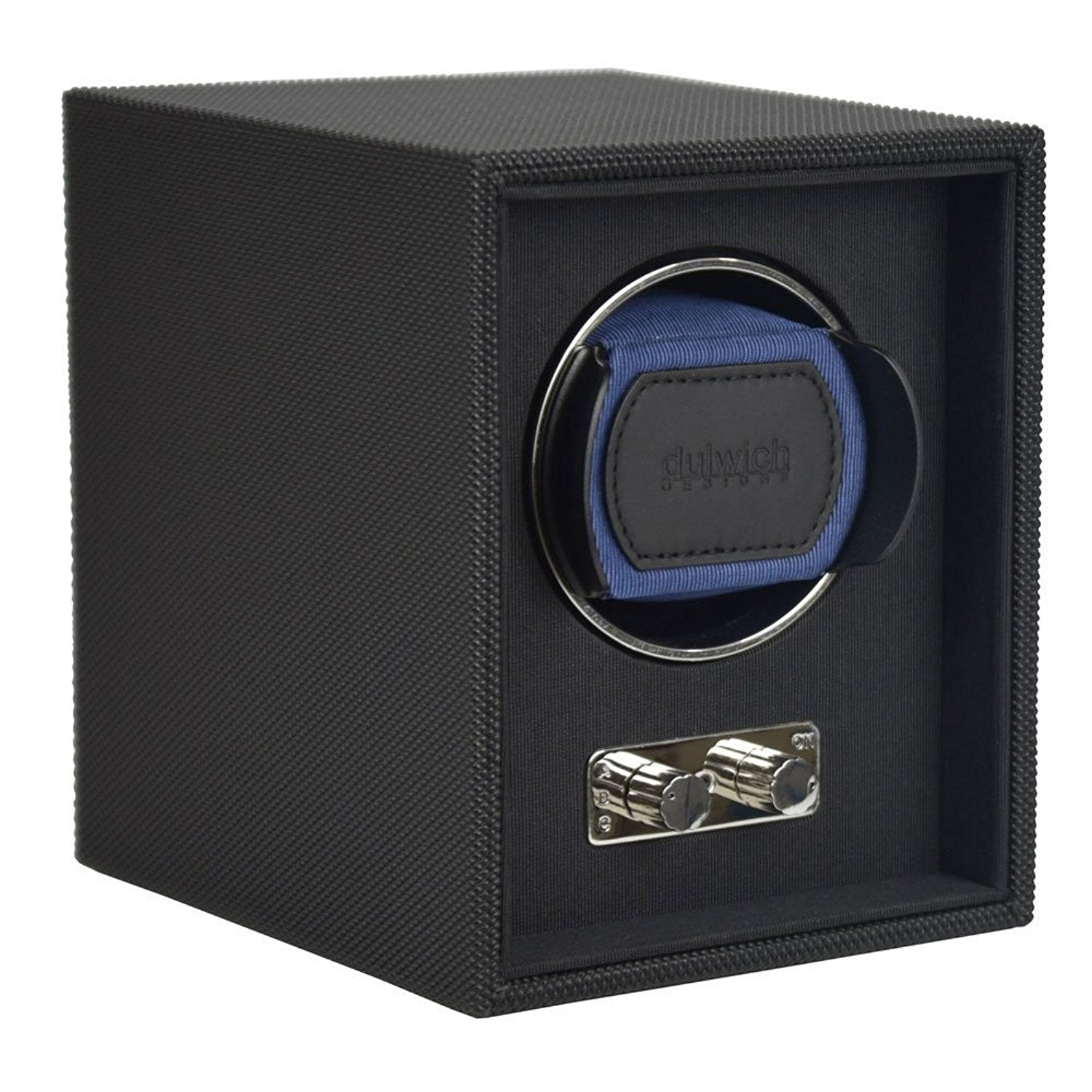 Goodwood Dulwich Navy Blue Single Watch rotator Watch Winder