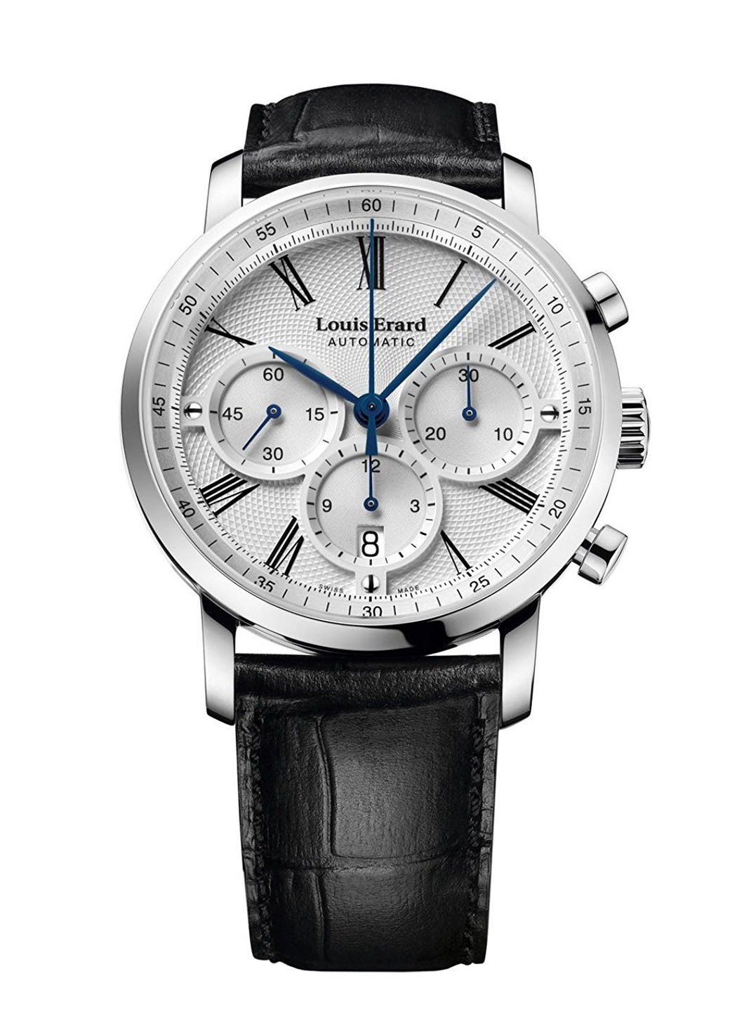 Louis Erard Excellence Collection Swiss Automatic Selfwinding Silver Dial Men's Watch 71231AA31.BDC51 ...
