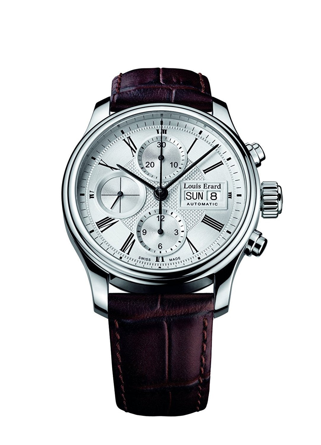 Louis Erard Heritage Collection Swiss Automatic Silver Dial Men's Watch 78259AA21.BDC21